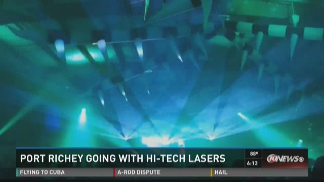 Port Richey going with hi-tech lasers