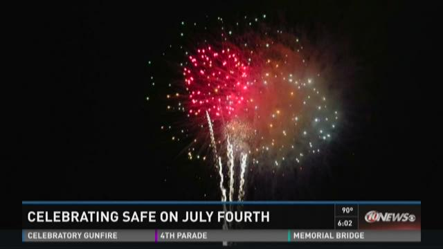 Celebrating safely on July 4th