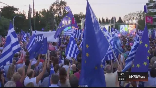 Greek voters head to polls.