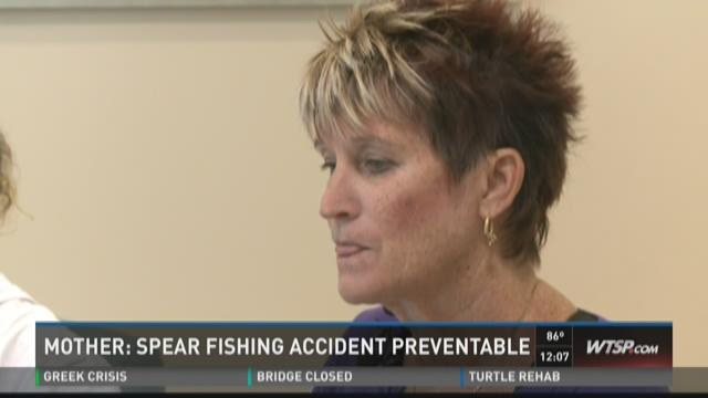 Mother: Spear fishing accident preventable