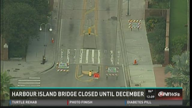 Harbour Island bridge closed until December