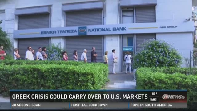 Greek crisis could carry over to U.S. markets