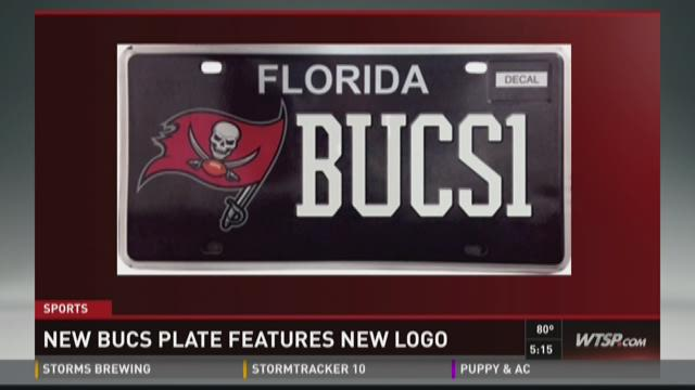 New Bucs plate features new logo