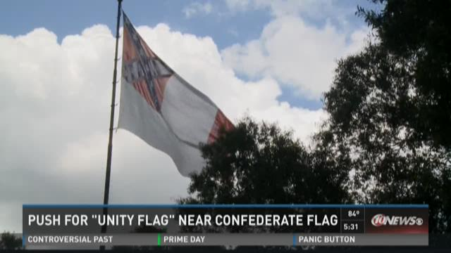 'Unity flag' planned near Tampa Confederate flag
