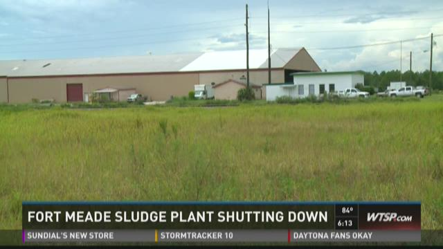 Fort Meade sludge plant shutting down