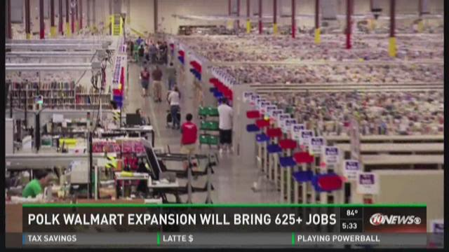 Walmart brings 600 jobs to Polk County