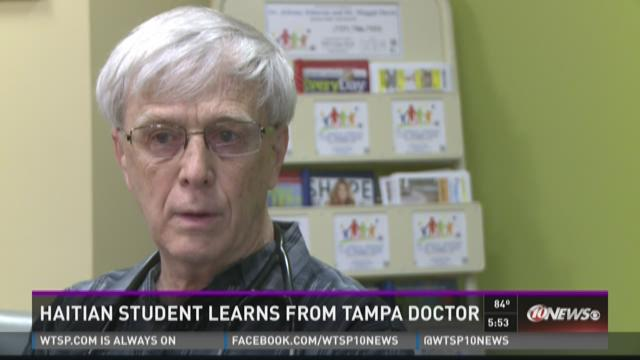 Tampa doctor trains Haitian student on medical mission