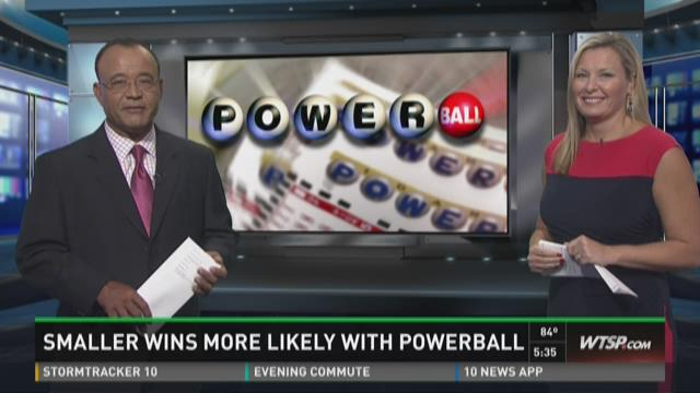 Smaller wins, increased odds with Powerball changes