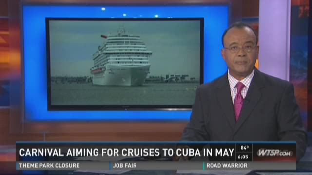 Carnival aiming for cruises to Cuba in May