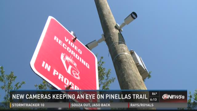 New cameras keeping an eye on Pinellas Trail