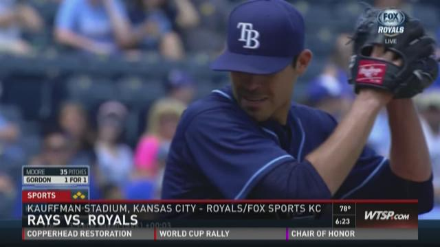Rays lose to Royals on walk-off grand slam, 9-5