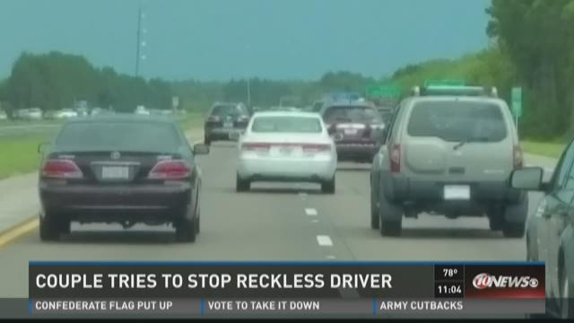 FHP response questioned in reckless driver case