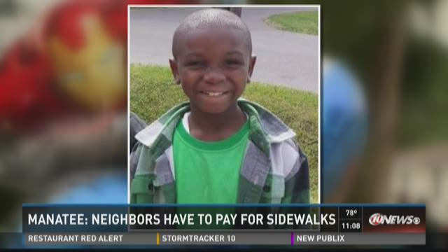 Manatee community wants sidewalks to prevent another tragedy