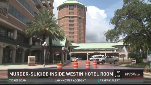 Man Shot Tampa Hotel Room