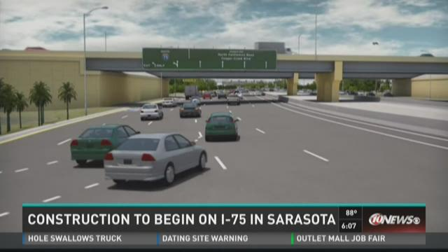 Road work to start at university i 75 in sarasota for Construction suite online