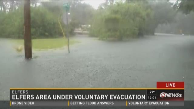 Elfers area under voluntary evacuation