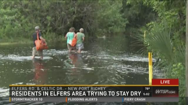 Elfers residents worry about Anclote River