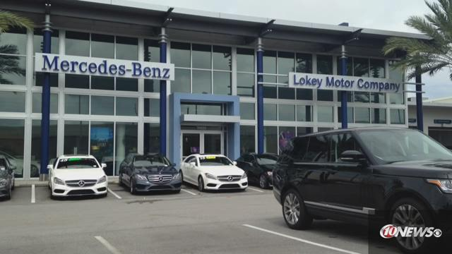 Small explosion at clearwater car dealership for Lokey mercedes benz