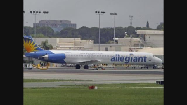 Allegiant pilot pleads to land