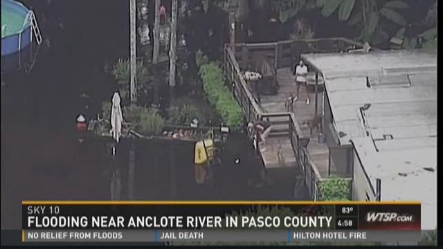 Fifth day of flooding in Pasco