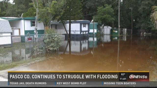 Elfers residents await help with flooding