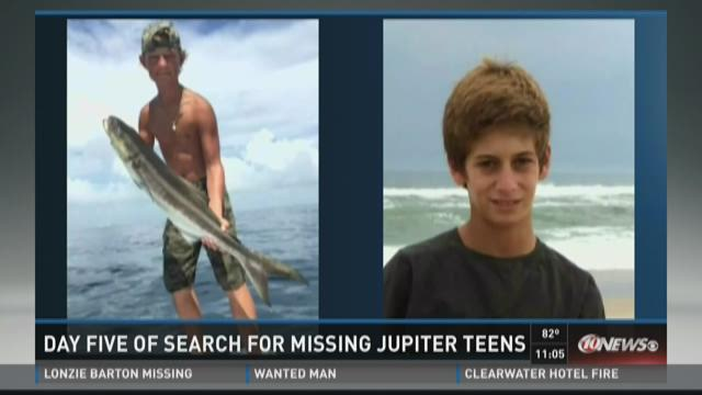 Missing teen boaters at mercy of Atlantic