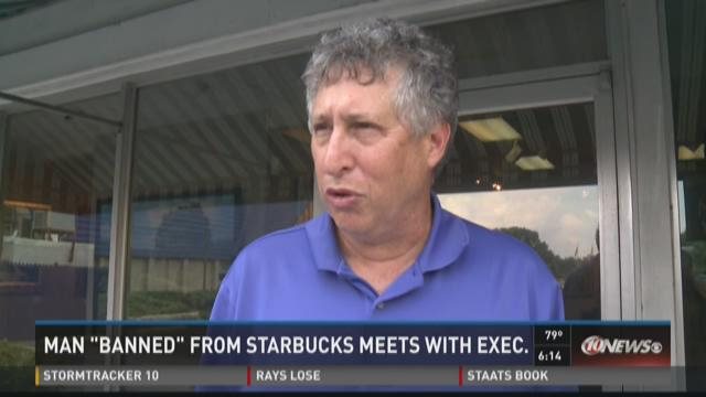 Tampa man reinvited to Starbucks meets with VP