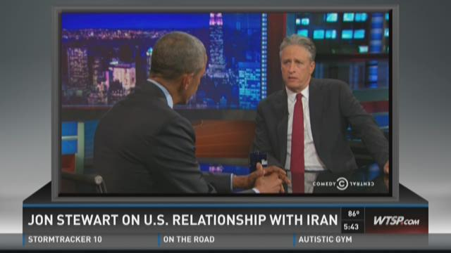 PunditFact: Jon Stewart on U.S. relationship with Iran