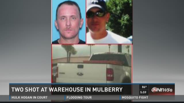 Man sought in Mulberry business shooting