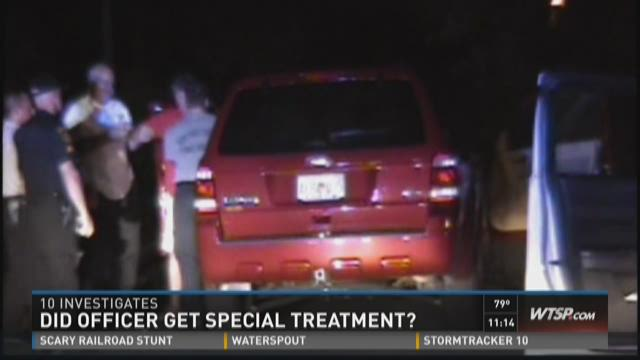 Did New Port Richey detective get special treatment?