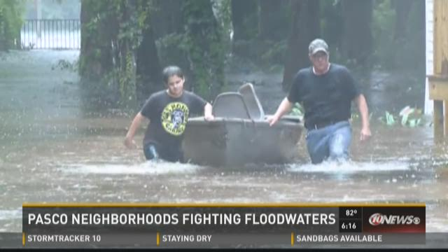 Bass Lake neighbors scramble to stay dry