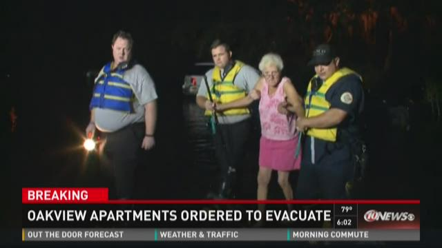 Oakview Apartments ordered to evacuate