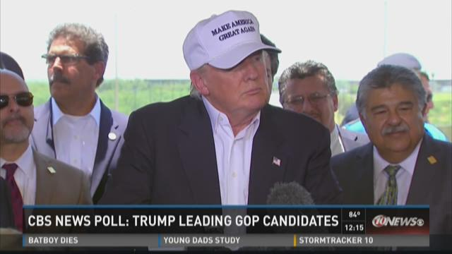 CBS News Poll: Trump leading GOP candidates