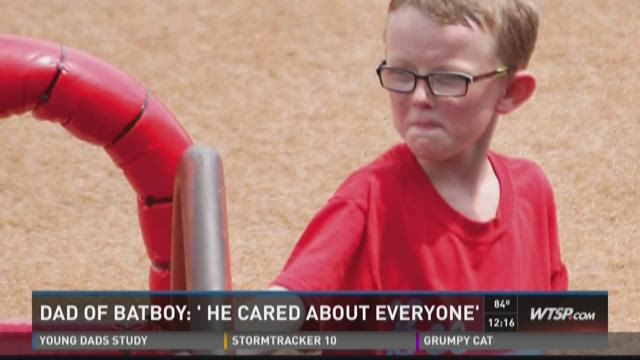 Dad of batboy: 'He cared about everyone'