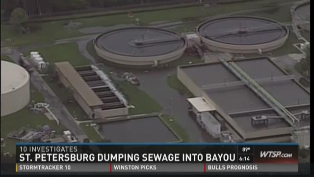 10 Investigates: St. Pete pumping raw sewage into bayou