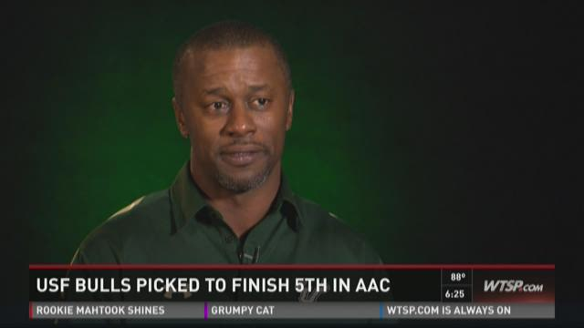 USF Bulls picked to finish 5th in AAC