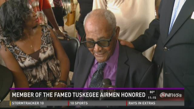 100-year-old Tuskegee airman honored in St. Pete