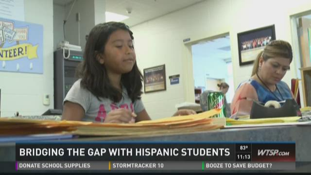 Bay area schools adjust to influx of Hispanic students