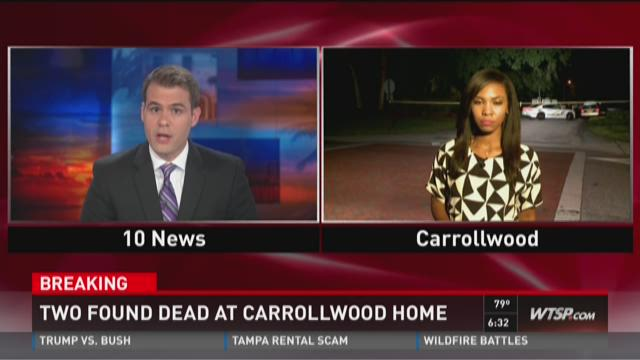 Two found dead at Carrollwood home