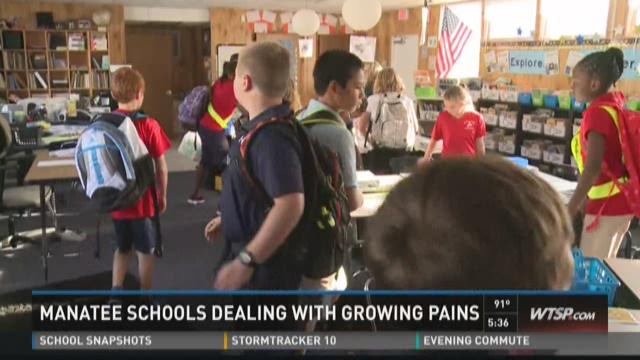 Manatee schools fitting in more students