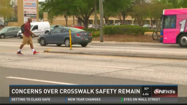 Promised crosswalk not ready for first day of school