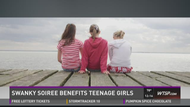 Swanky soiree benefits teenage girls