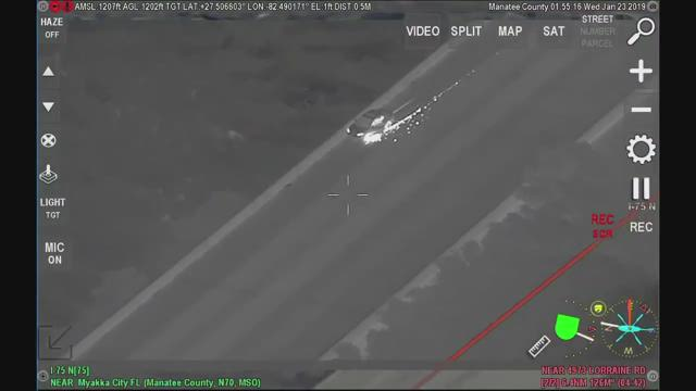 Manatee County chase ends with capture by K-9