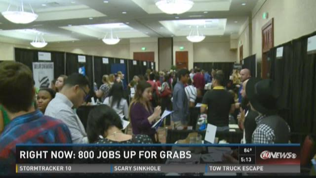 800 jobs up for grabs at Tampa outlets