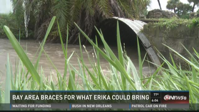 Bay Area braces for what Erika could bring