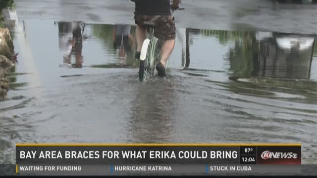 Cities prepares for TS Erika
