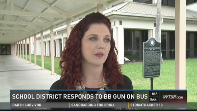 Student with BB gun on bus concerns students, parents