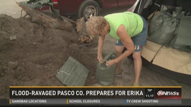Pasco residents fear heavy rain from Erika