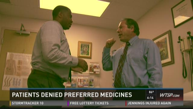 Patients denied preferred medicines