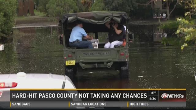 Hard-hit Pasco County not taking any chances